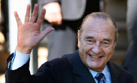 Late Jacques Chirac