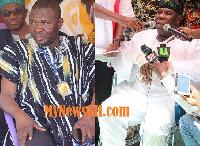 Mohammed A Baantima Samba [left] and Bugri Naabu