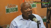 Central Regional Chairman, NDC, Allotey Jacobs