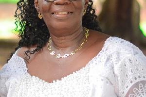 The outgoing Bibiani-Anhwiaso-Bekwai Municipal Director of Education, Madam Mercy Emefa Boateng