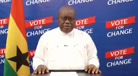 The NPP flagbearer is making a third attempt at the presidency in this year's elections