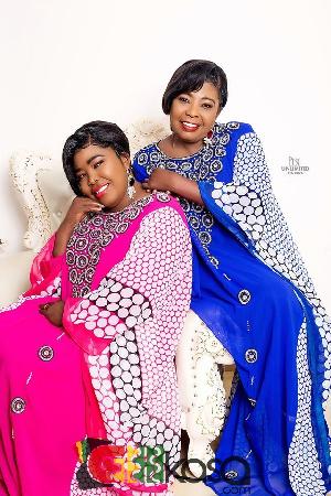 Ghanaian veteran gospel musicians, Tagoe Sisters