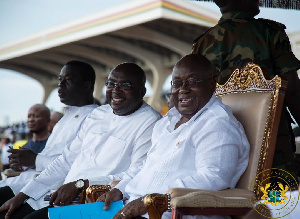 President Nana Addo Dankwa Akufo-Addo and Vice President, Mahamudu Bawumia
