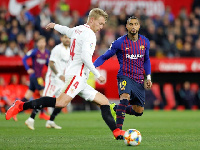 Kevin's Barcelona debut ended in defeat