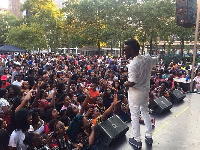 Bisa Kdei performs at Afro Festival