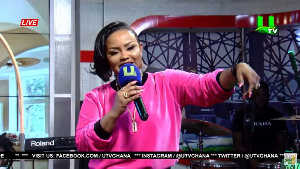 Nana Ama McBrown, host of United Showbiz