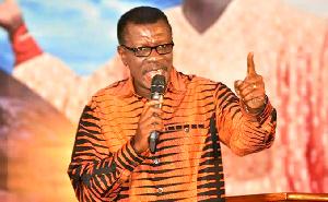 Pastor Mensa Otabil, General Overseer of the International Central Gospel Church
