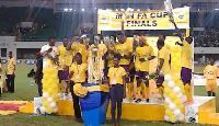 Medeama edge Kotoko to win 2015 MTN FA Cup