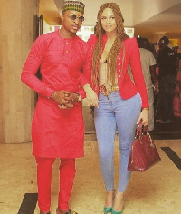 IK Ogbonna and his wife