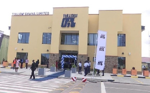 Tullow Oil office in Accra