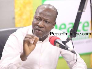 James Kwabena Bomfeh Jnr., Acting General Secretary of CPP