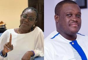 Ursula Owusu And  Sam George 1