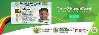 The Ghana card
