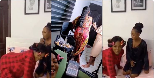 Mzbel posted the video on Instagram
