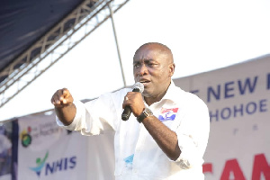 Kwabena Agyepong has been reinstated into the NPP