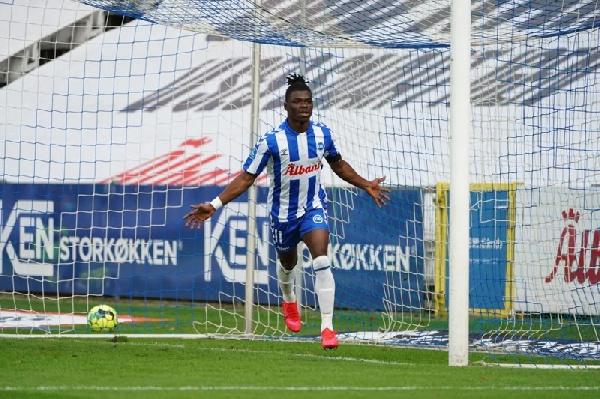 Emmanuel Afriyie Sabbi scores only goal as Odense BK beat AC Horsens in Danish League