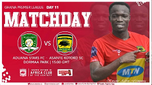 It's Kotoko vs Aduana at the Agyemang Badu Park