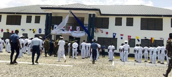 Ghana Navy gets 72-bed capacity transit quarters