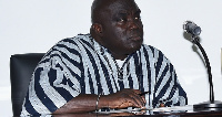 Mr. Julius Debrah, former Chief of Staff