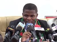 National Communication Officer of NDC, Sammy Gyamfi