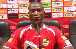 Deputy coach of Asante Kotoko Akakpo Patron
