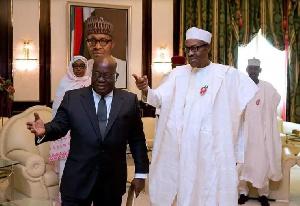 President Akufo-Addo and President Buhari