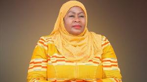 Tanzanian Vice President Samia Suluhu Hassan was sworn in as president