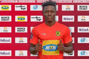 Striker Kwame Opoku