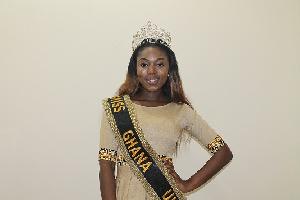 Eloise Dickens Miss Ghana UK, 2014