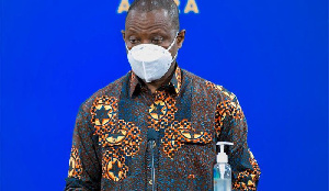 Dr. Patrick Kuma Aboagye, Director-General of the Ghana Health Service