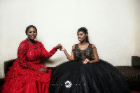 Anita Erskine and Selly Galley