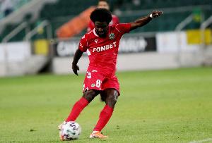 Ghana winger Ernest Asante
