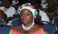 Hannah Bissiw, newly elected NDC Women organiser
