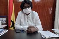 Madam Justina Owusu-Banahene, the Bono Regional Minister