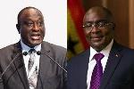 Vice President of Ghana,  Dr Mahamudu Bawumia and Alan Kyeremanteng