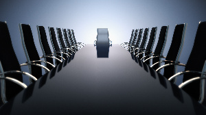 File photo of a board room. Photo credit: HBR