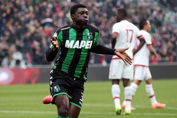 Sassuolo turn down €13 million offer from Fiorentina for Alfred Duncan