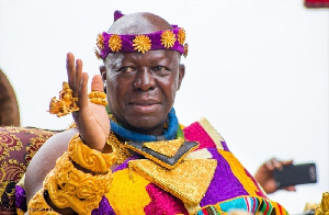 Otumfuo Osei Tutu II was speaking at a Regional Consultative Dialougue on Small Scale Mining