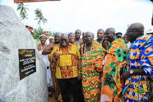 Nana Addo With Nzema Chiefs
