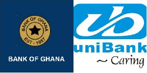 The Bank of Ghana revoked Unibank's licence in 2018