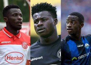 Some Ghanaian players in the the German Bundesliga