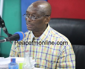 Managing Editor of the New Crusading Guide, Kweku Baako