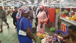 Some Eid Shoppers complained about the prices of goods and foodstuff on the market