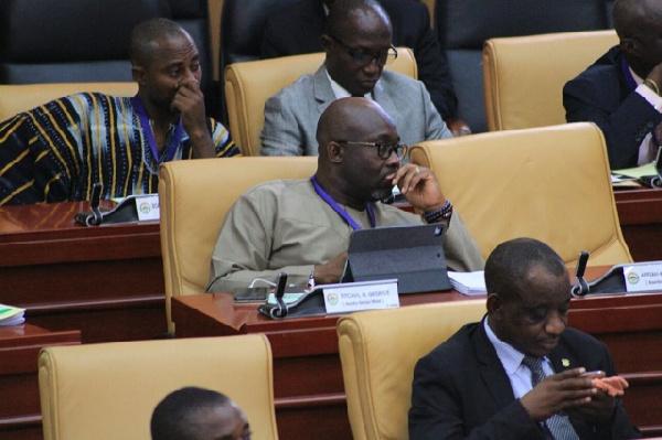 George Andah, MP for Awutu Senya