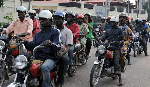 Motorcycle taxis are a source of air pollution — Muntaka Chasant