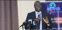 Minister for Business Development, Dr. Mohammed Awal