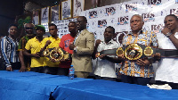 George Ashie will be fighting with Michael Mokoena on April 27 at the Bukom Boxing Arena