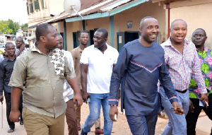 John Boadu with some Regional delegates