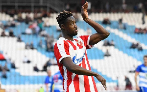 Boakye Yiadom was tipped to be Gyan's replacement