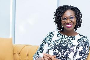 Adoma Peprah , Country Manager for Visa Ghana